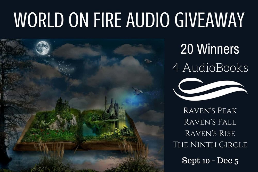 Audiobook Giveaway Footer Landing Page Link