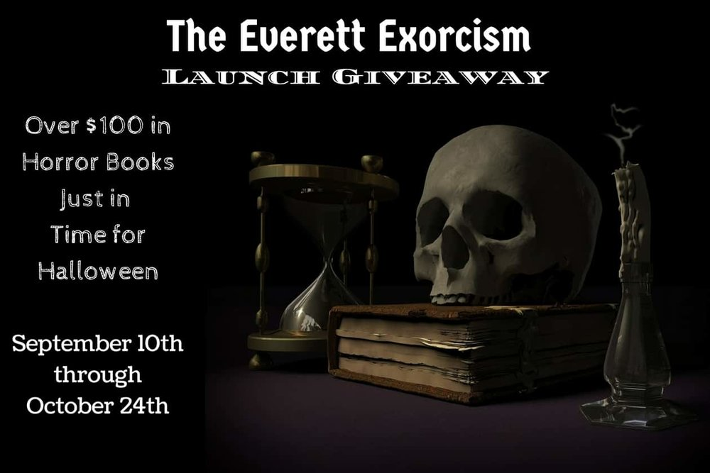 The Everett Exorcism Launch Footer Artwork