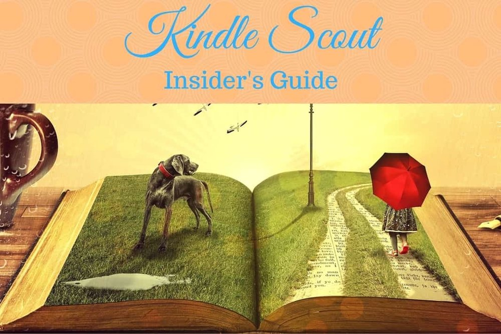 kindle scout insider's guide promoting campaign