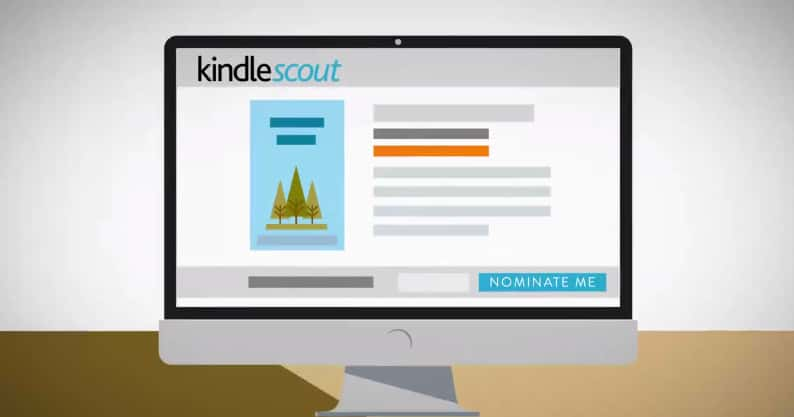 kindle scout running a campaign top level image