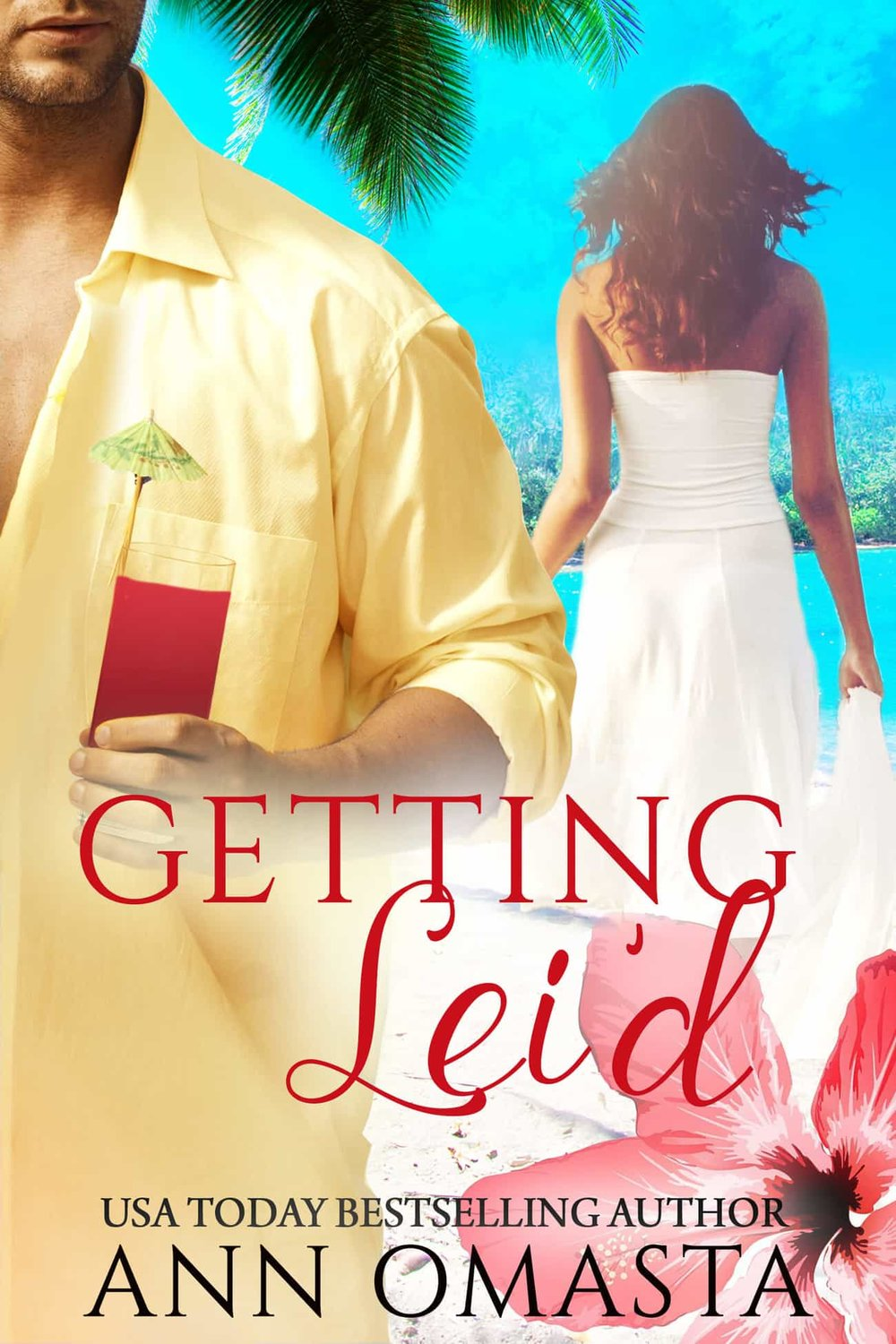 Getting Lei'd - Jilted by text message.Honeymooning with her grandma.The resort's bartender may look like Jason Momoa, but Roxy is NOT interested.**Kindle Scout Winning Book**Being jilted nearly-at-the-altar by text message is not at all how prim and proper Roxy Rose thought her wedding day would go. Getting dragged along anyway on her Hawaiian honeymoon by her self-centered sister and irreverent grandma is the icing on the horrible wedding-day cake.  Can Kai, the resort's hunky and talented chauffeur / bartender / flame-thrower, turn this disaster of a trip into a romantic adventure to last a lifetime? Or will his mysterious secrets keep their love from blossoming?  This novel is part of The Escape Series, which includes the prequel novella, Aloha, Baby!, as well as this book's sequel, Cruising for Love, and the sweet short story, Coconutty Christmas. You can read and enjoy these books in any order!Escape with Roxy into the enchanting Hawaiian Islands as she finally discovers the joys of hanging loose and