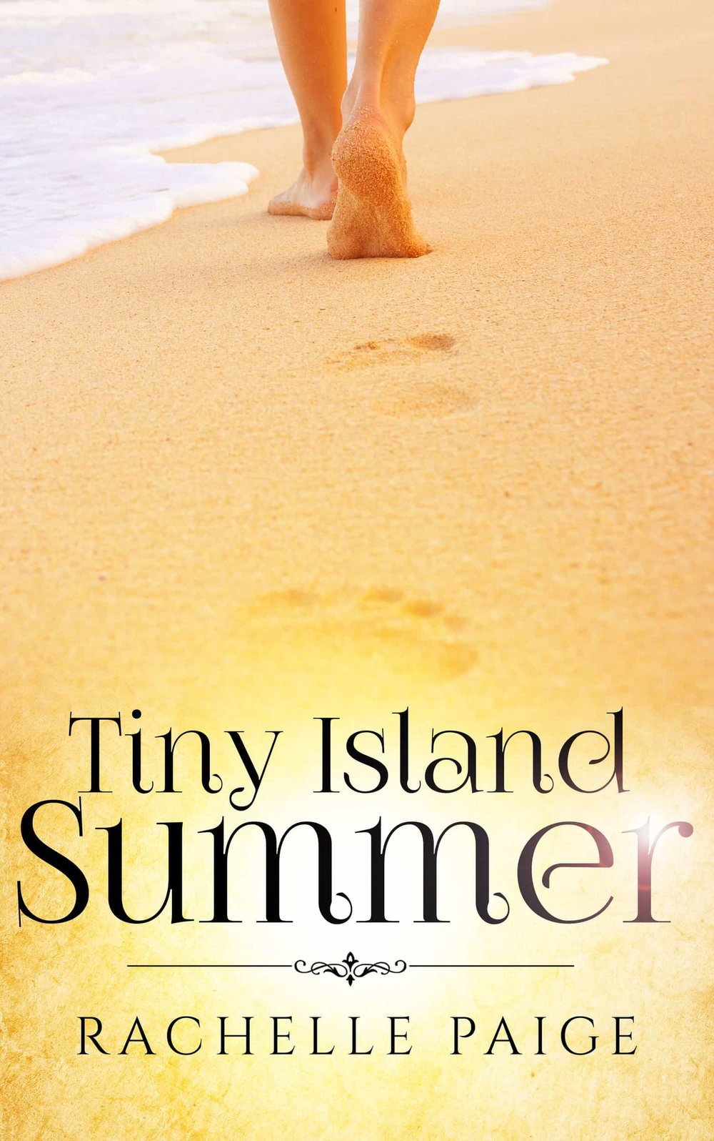 Tiny Island Summer - Thanks to her job, Darcy Rogus, has been relocated to the middle of nowhere. But with her determination to succeed and her best friend by her side, nothing is going to sidetrack Darcy achieving her career goals, especially not a handsome and brooding next-door neighbor.Ben Hampton has put his life on hold to take care of his ailing mother, and he can't let himself get distracted by anything, even if those distractions come with enticing hazel eyes.Staying away from each other is easier said than done on an island of fewer than three hundred people.