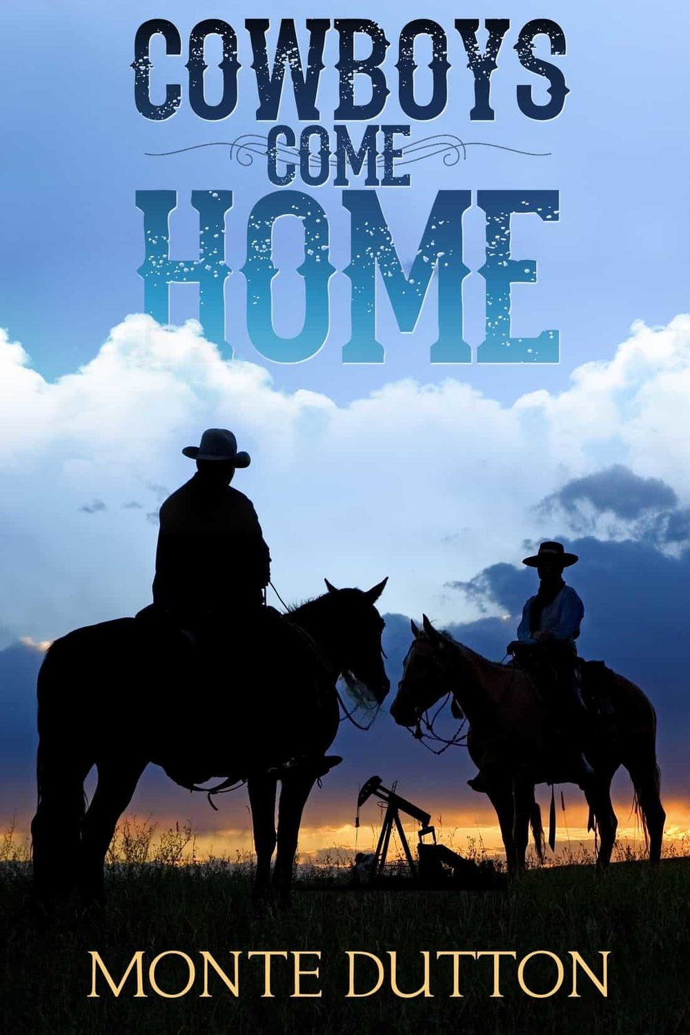 - Ennis Middlebrooks and Harry Byerly are warriors, and the time for fighting is past. They're cowboys, and when they get back home to Texas, the time for cowboys is passing, too.Monte Dutton's fifth novel, Cowboys Come Home, begins on the island of Peleliu, where the two privates somehow manage to save themselves when cut off from their fellow Marines by the Japanese. Ennis and Harry come home to a hero's welcome, but life gets complicated after that.The Middlebrooks ranch, east of Janus, near the Oklahoma border, is rundown, and Ennis's father is dying. Harry moves in, Mama Middlebrooks moves out, and Ennis takes a job as a deputy sheriff under a wise but aging lawman, Judson Lawson. His little sister, Becky, is wild beyond her years and takes an immediate shine to Harry, who is haunted by the war and prone to violence.The closing of an Army base, Camp Ammons, is causing the town to die. The county loses nearly forty thousand infantry trainees and gains nearly sixty thousand acres. The ranchers it displaced are either long gone or too poor to purchase their land back. Men with political clout and money move in like vultures. Money buys influence and, with it, elections. EnnisMiddlebrooks goes from sheriff in waiting to disgraced lawman.He and his old Marine pal, Harry Byerly, decide to do something about it.