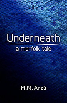 Underneath - When an injured merman is found washed up on a beach in Maine, his arrival at the ER leaves his new doctors at a loss of how to treat him. Worse, how are they going to keep him from the military's eager hands?One reporter is hot on the trail of what she believes is an elaborate hoax—or the story of a lifetime. A story that has her tracking elusive clues into an ever-growing house of secrets surrounding one of the richest families in New York City.For merfolk have been hiding in plain sight for centuries, and are now torn between sacrificing one of their own—or telling humanity the truth.Underneath - A Merfolk Tale is an exceptionally different take on mermaid stories, one that combines the fear of the unknown with the need to protect those we love the most.