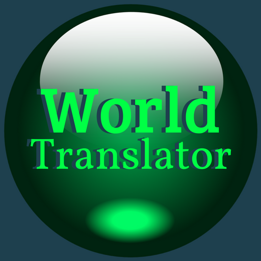 World Translator - A simple translator that lets you hear any translation from English into a multitude of other languages.