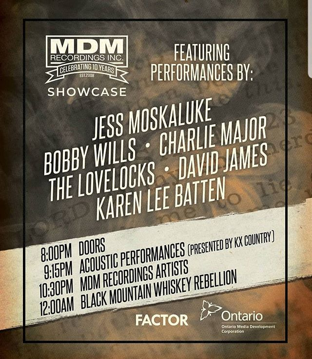 Votes are in and counted! I am super pumped to announce that I will be performing at the @mdmrecordings party at @ccmaofficial #countrymusicweek ! Thank you @kx947 and a HUGE thank you to everyone who voted! I feel like I could do a backflip right now!  #meansalot #grateful #countrymusic #indie #party #radio #canadiancountry #kxcountry #kx947 #mdmrecordings #ampedup #crankitloud
