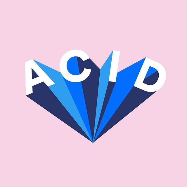 ACID PROYECTOR . . . #design #modern #graphicdesign #inspiration #colors #acid #font #minimal #minimalist #patterns #summer #me