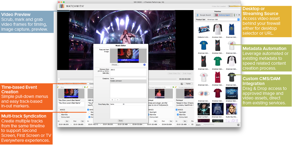Watchwith Showrunner™ UX Overview