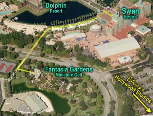 Fantasia Gardens Mini Golf Upon A Star Travel