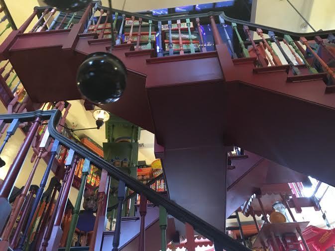 The Inside of The Weasley's Wizarding Wheezes Joke Shop!