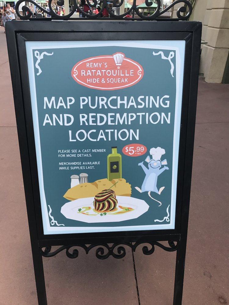 Explore World Showcase with Remy\'s Ratatouille Hide and Squeak ...