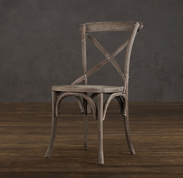 Great Restoration Hardware Barn Dining Chair + Cushion