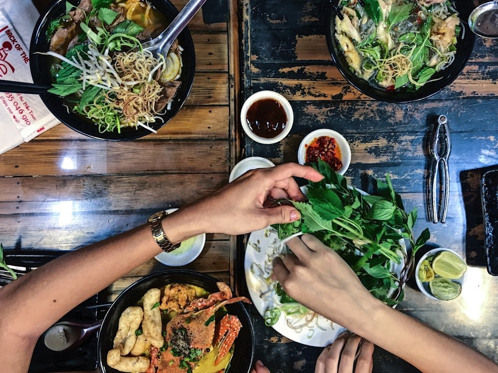 Saigon's food scene.