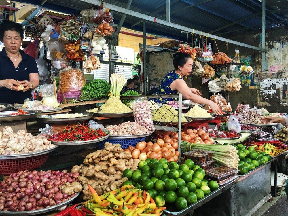 Ho Chi MInh's Market