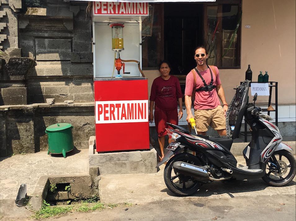 Fueling in Bali