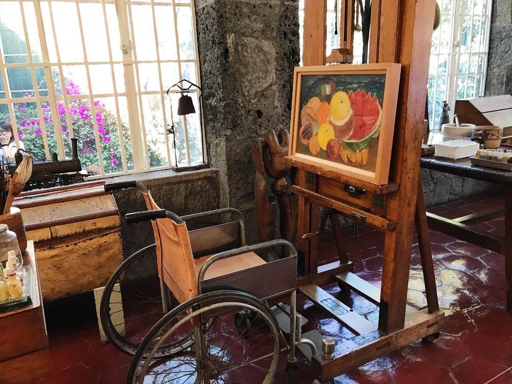 Casa Azul, Museo Frida Kahlo, Coyoacan, CDMX