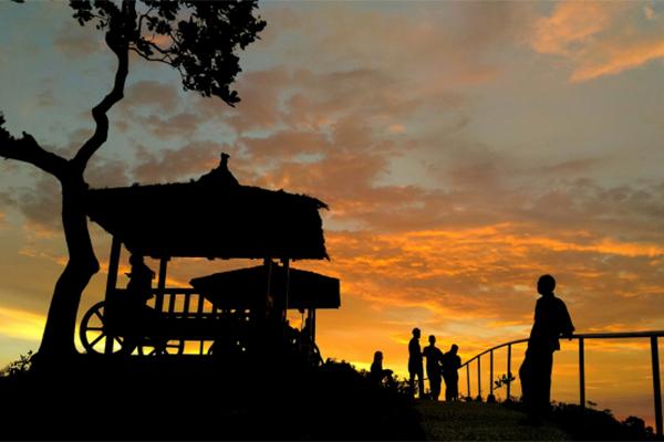 SUNSET_DI_GREEN_VILLAGE_GEDANGSARI._FOTO_VIA_jarwadi.me