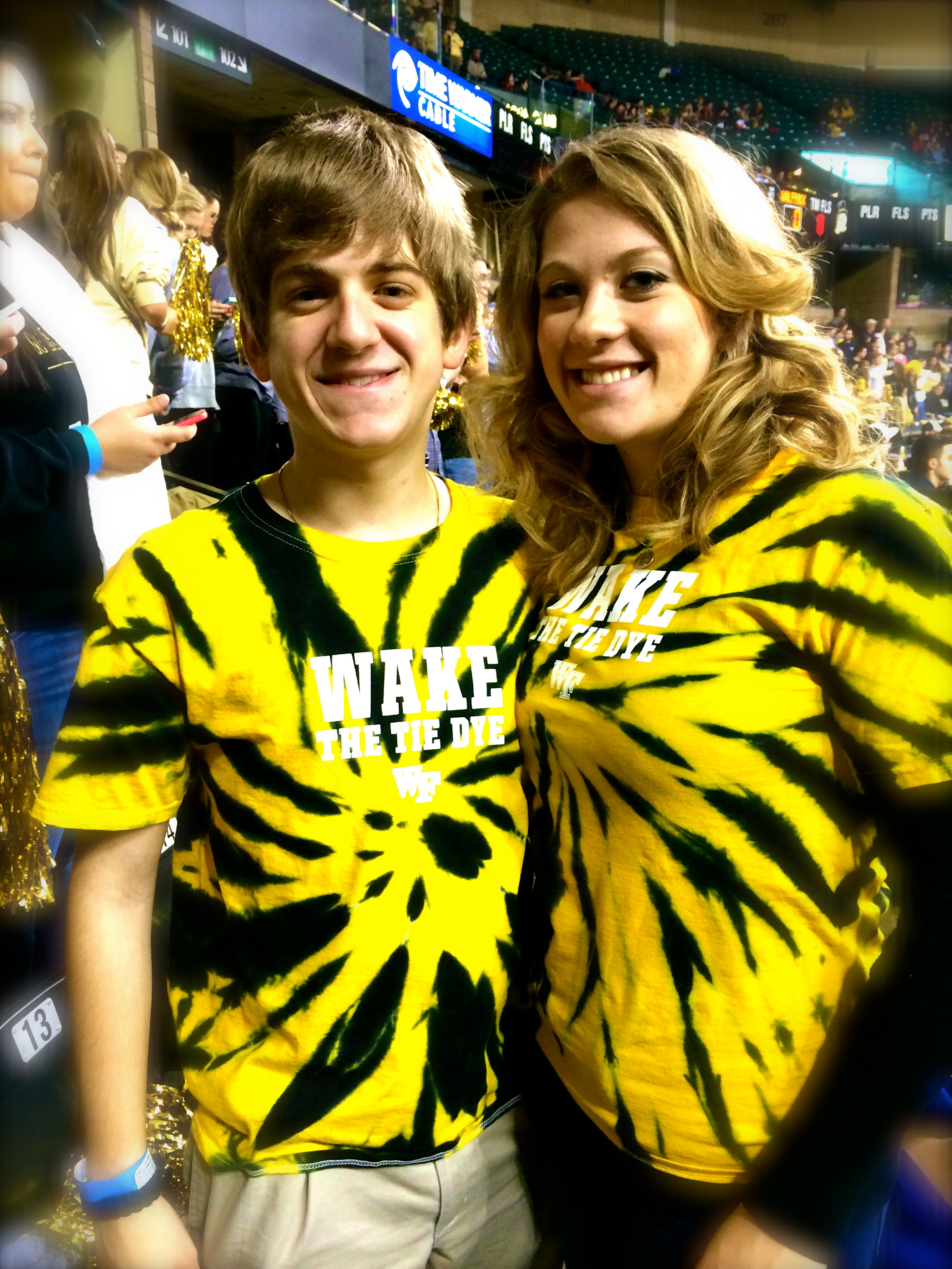 Twinning with G! Love my Tye-Dye Nation.