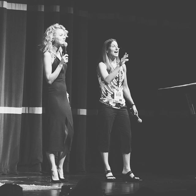 Happiness is hearing and seeing these two bad*** babes on a stage together. No Monday Scaries Allowed 🙅🏼. Good luck out there on your Monday morning wake ups!