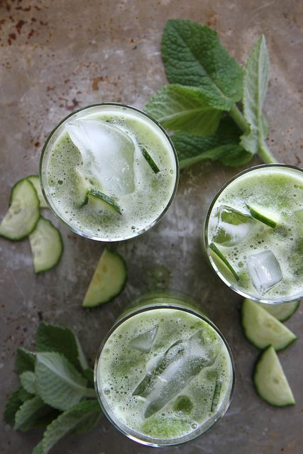 cucumber mint gin coolers - I'll be sharing one of my favorite cocktails this week (pulling it from the 2016 archives), but find this one to be serious inspo -- green drinks and refreshing to boot? Count me in. The real question is: will this make me like gin finally?
