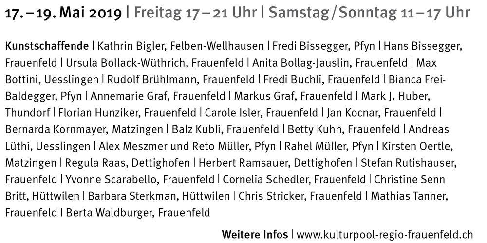 Broschüre ,  theaterwerkstatt/atelier-wochenende ,  thurgaukultur/atelier-wochenende