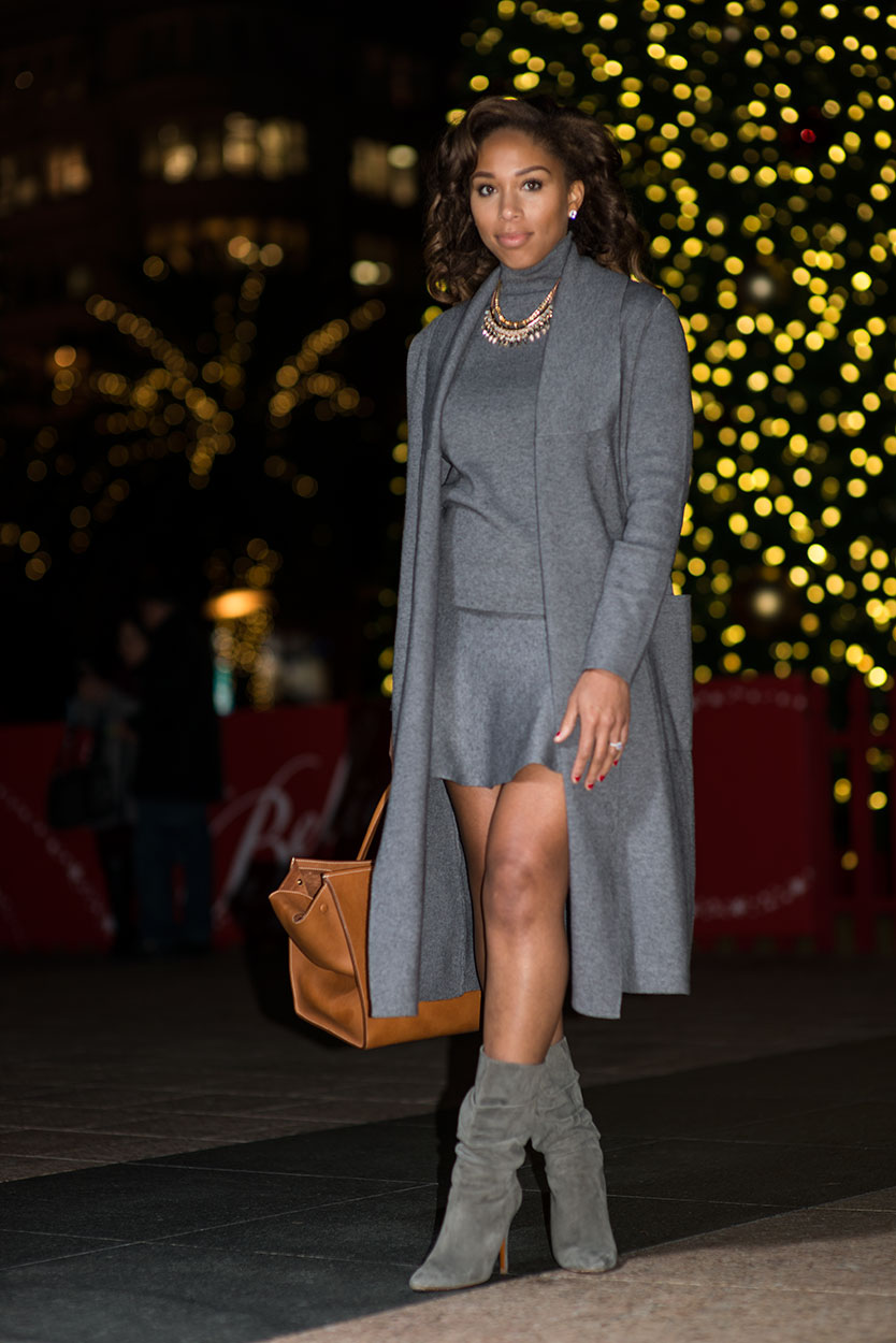Accessories: Express | Shoes: Ralph Lauren | Top:  Zara  | Jacket:  Zara  |Bag: Celine| Photos by:  Christie Malvin