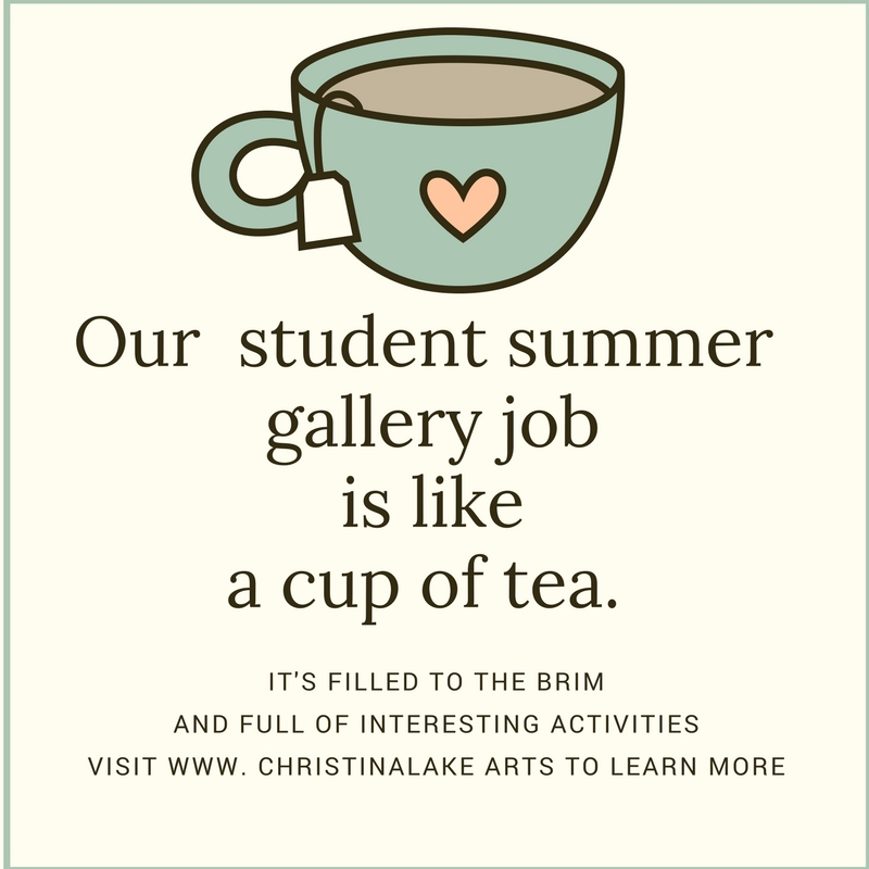 1 30 hr/wk Christina Lake Arts & Artisans Society (CLAAS)  Gallery Events, Retail & Social Media Assistant  Applicants should have experience in the arts and social media and must be between ages 17-30, currently enrolled in (or applying to)  post secondary education and returning Sept. 2018.  Job Start Date: July 2  End Date:  August 27/18  For further information and application submissions, CLAAS claasinfo@gmail.com 250 447 - 7636    Tasks:    -Work in a team environment to develop visual retail and gallery displays   -Assist with the marketing and promotion of the gallery exhibits and events. Proofing & editing skills are required.  -Help promote  Arts on 3 Gallery on our social media platforms  - Help design and deliver hands-on activities for children and adults.  -Conduct visitor surveys and collect attendance statistics.  -Assist with the organization and operation of the  Community Arts & Education Programme.   Qualifications:    -Friendly, reliable and outgoing with great communication and people skills.  -Enrolled in a community college or university program and planning to return to school in the fall.  -Strong computer skills and knowledge of various social media platforms.  -Experience with planning or organizing events.  -Strong research and writing skills.  -Excellent time management skills.  -Previous retail experience is an asset.  -Courses in marketing, communications, tourism, event management or education are an asset.  -Bilingualism is an asset.  This is a paid spring/summer position with some weekends required. Christina Lake Arts and Artisans Society (CLAAS) is an equal opportunity employer.   To apply, please submit your resume to  claasinfo@gmail.com      Pay $14.00 per hour