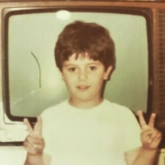 Flash Back Friday...From an early age, I always knew that I wanted to spread peace thru television. #FBF #tobeakidagain #Destiny #doubledeuce