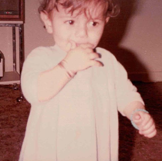 Flash Back Friday to One year old and 2 year old me. When you grow up with two older sisters they put hair clips in your hair. Wanted to wish everyone celebrating a EID Mubarak! What a blessed day...I'm praying for all those in need. Much love to all my brothers and sisters out there. Nothing but love... #EidMubarak #FlashBackFriday