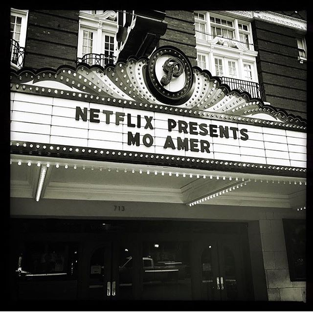 #AUSTIN: tonight is THE night. Live taping of my @netflix special at @paramountaustin. Can't wait to see you... 💥 // Shout our to @_endlessfilms for the pic. Don't forget to tag @realmoamer for a chance to be featured! 🙌
