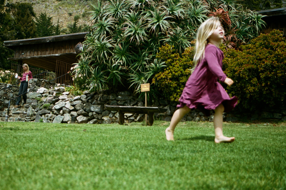 """Esalen girl, from the series Highway Series 6/4"""" C-type on Aluminium /Edition of 10"""