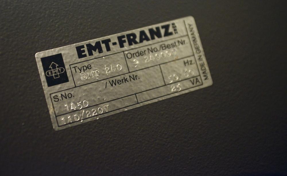 EMT Plate Reverb
