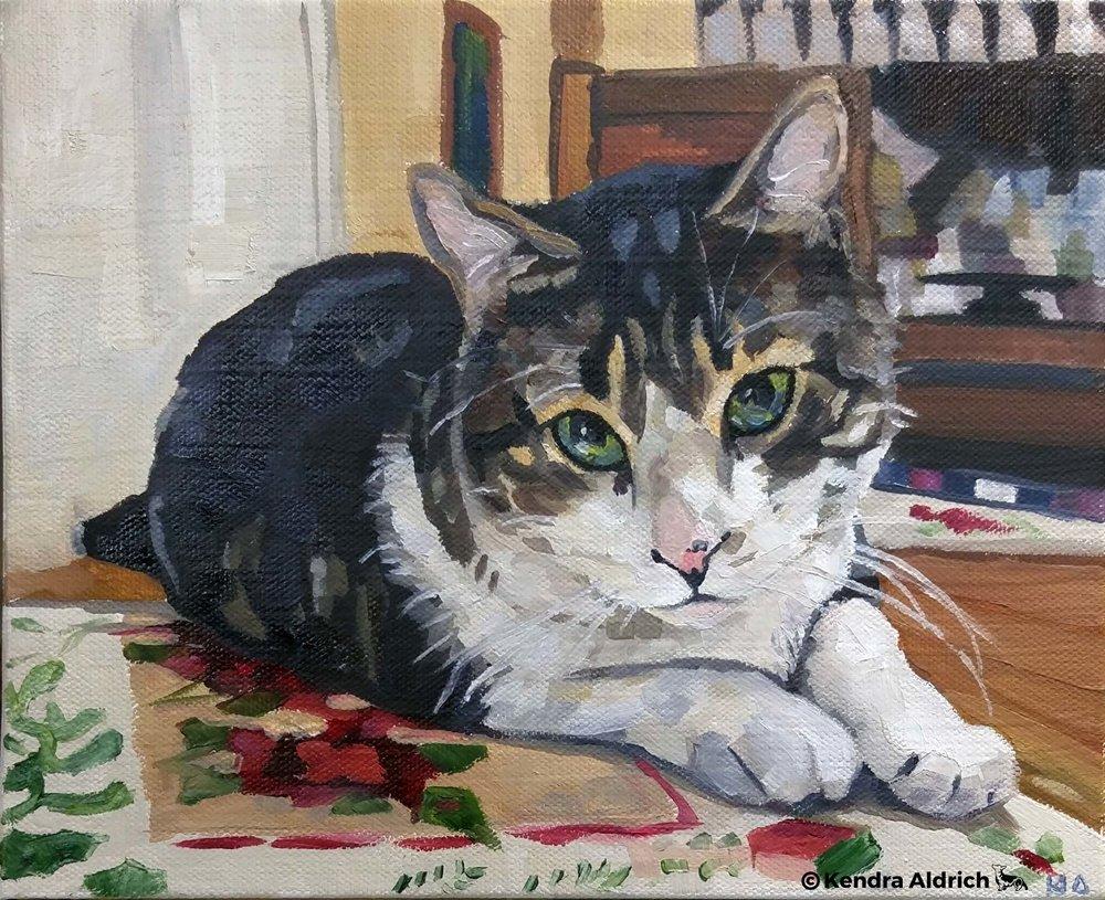 SammyJo, Oil on Canvas, 8x10