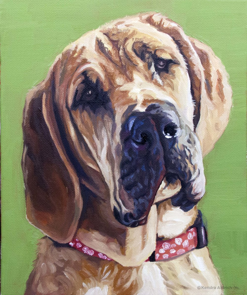 Millie, Oil on Canvas, 8x10