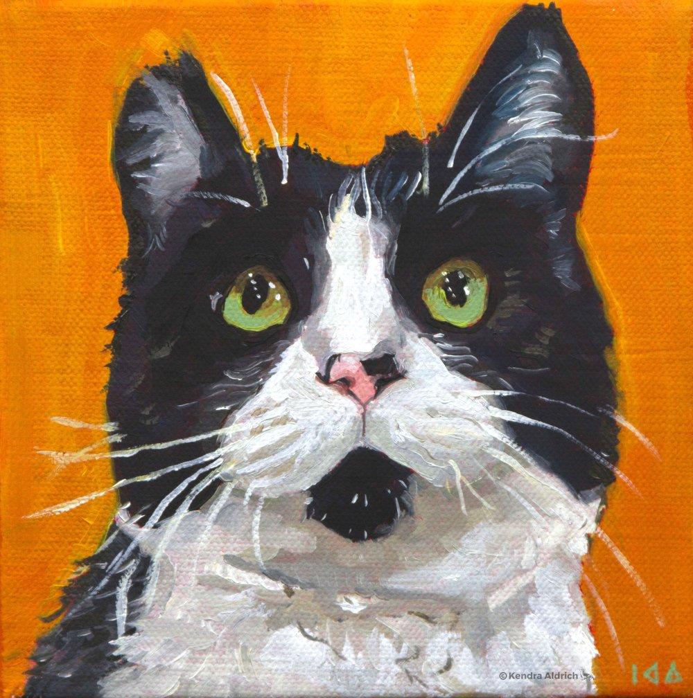 Stella, Oil on Canvas, 6x6