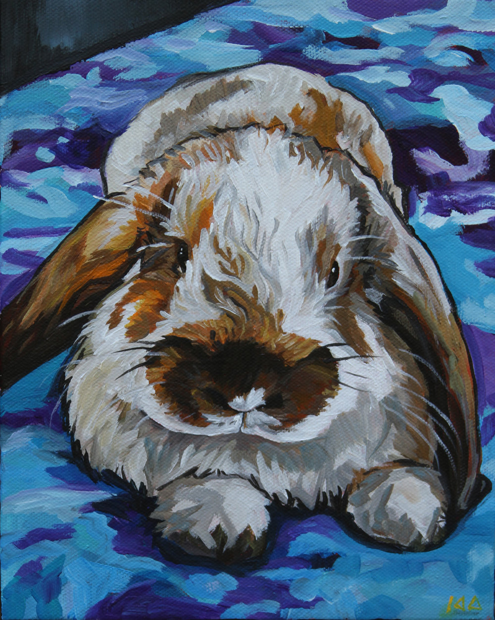 Rox, Acrylic on Canvas, 8x10