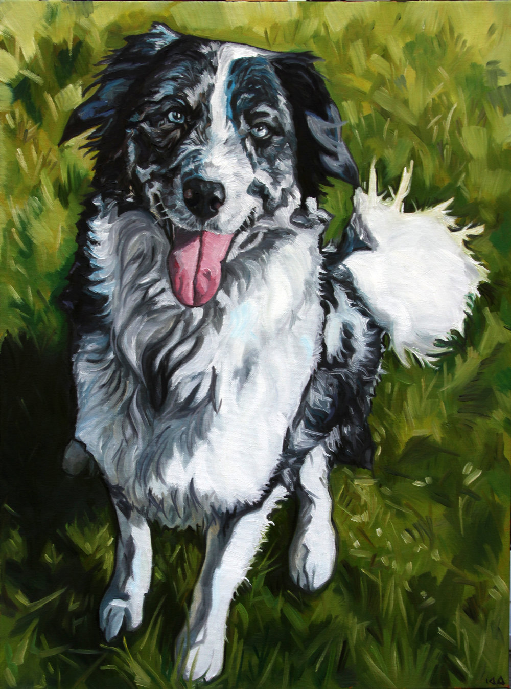 Scout, Oil on Canvas, 18x24