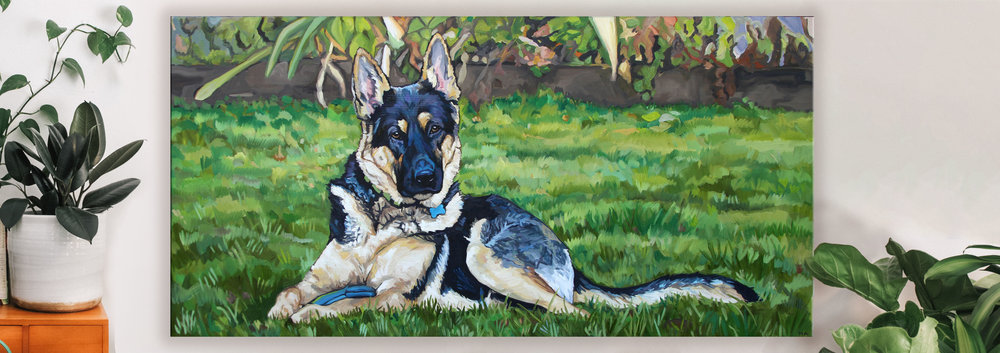 Hand Painted Pet Portraits