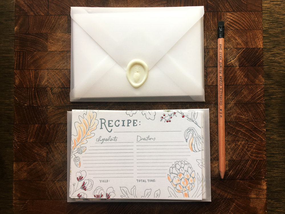 The Inner Envelope — Allie Hasson | Modern Heirloom Wedding Invitations