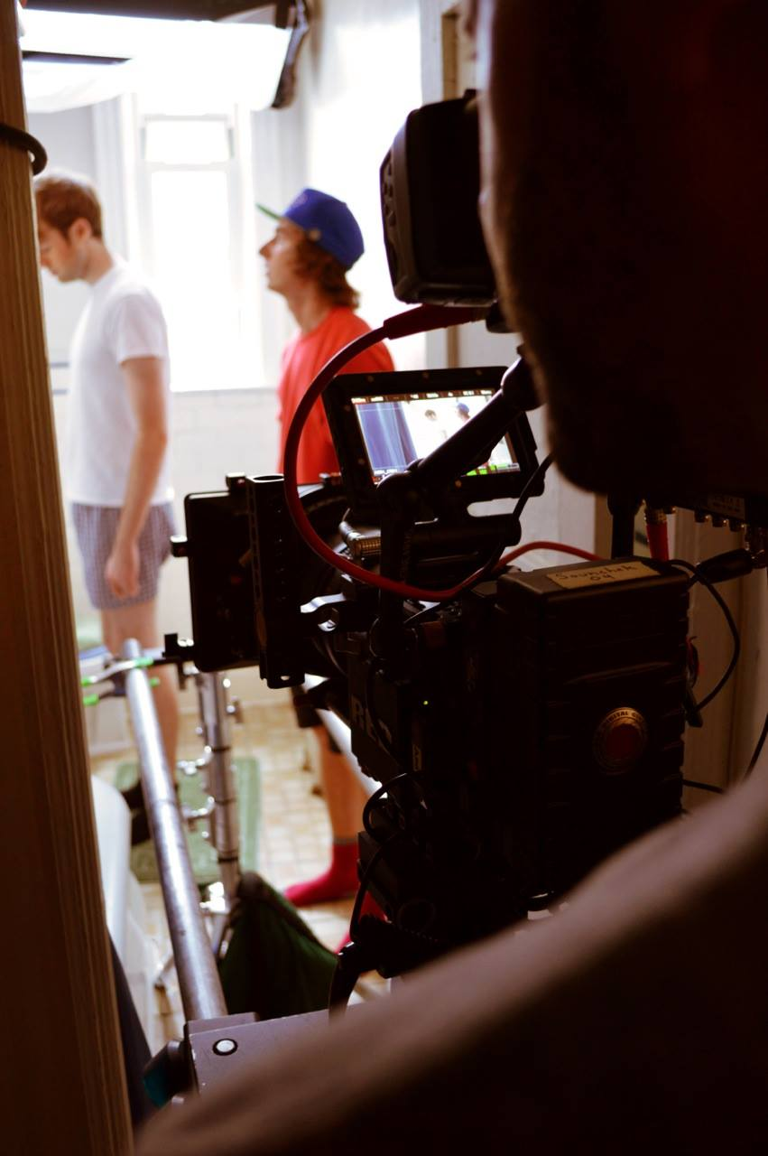 Yikes - a short film by Michael Fodera (BTS)