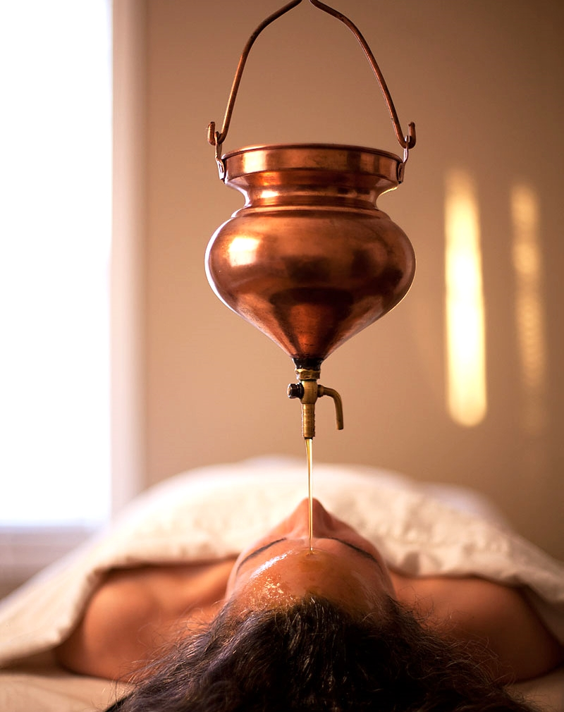 The king of Ayurvedic treatments; Shirodhara. A luxurious, continous oil flow treatment that nourishes adn relaxes the mind, the effect are profound and tailored to suit your body type.
