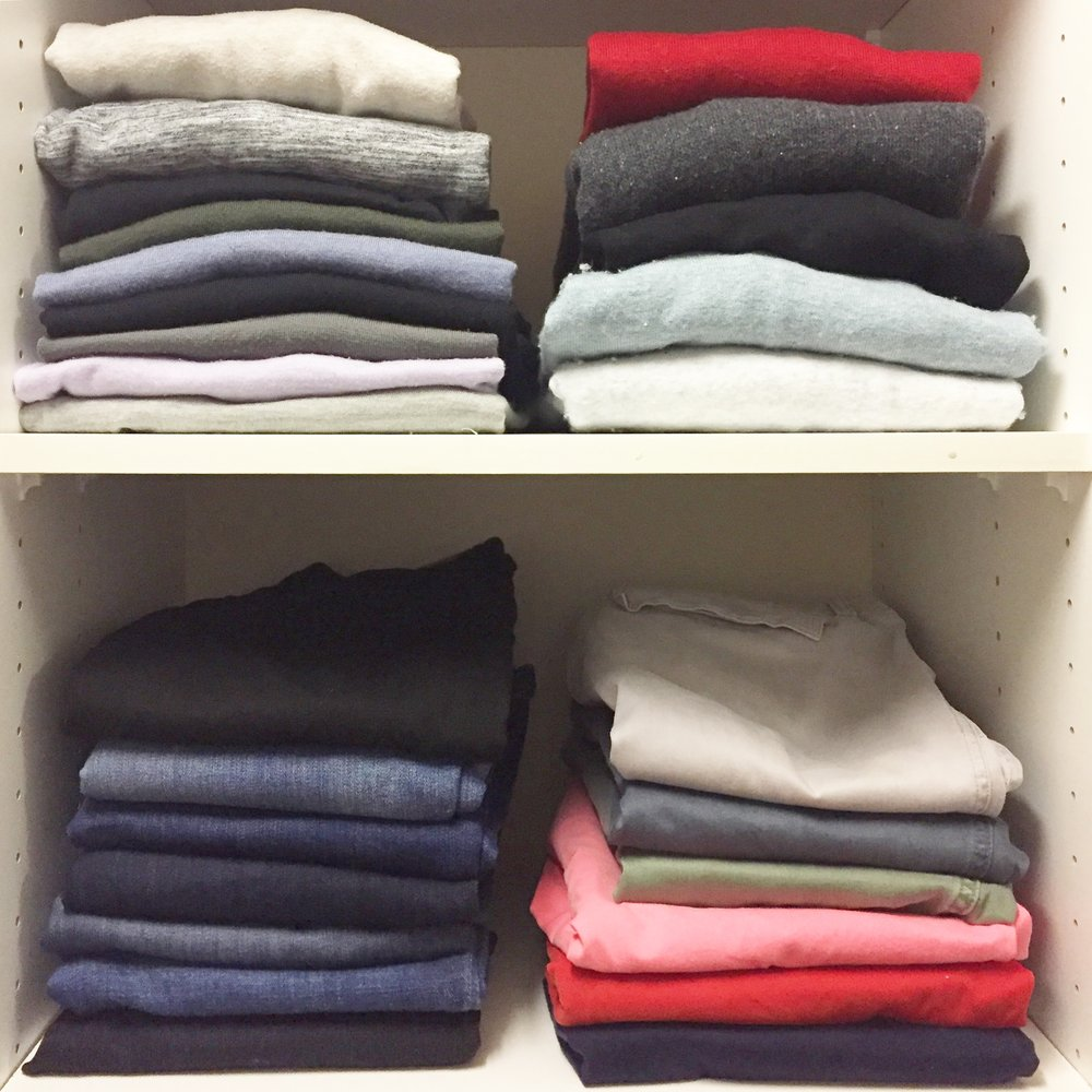 Henry & Higby_Folded Clothing Organization.JPG