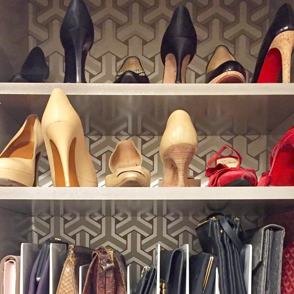 Henry & Higby_Shoe Closet Organization.JPG