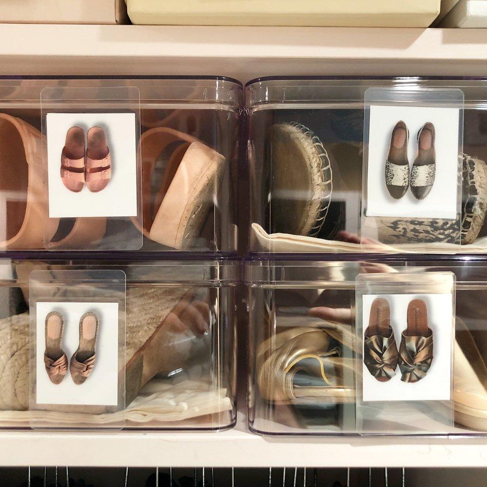 Henry & Higby Clsoet Shoe Labels.JPG