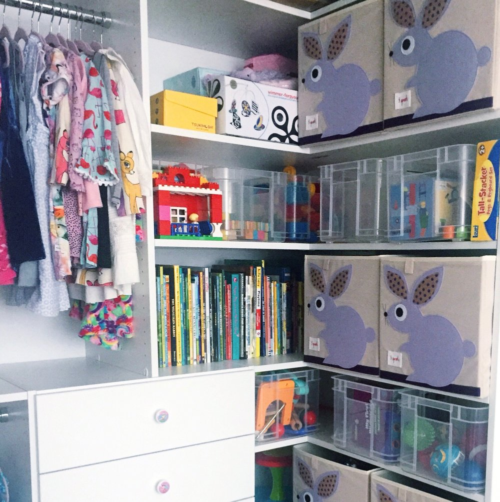 Henry & Higby Closet Organization Clothing and Toys.JPG