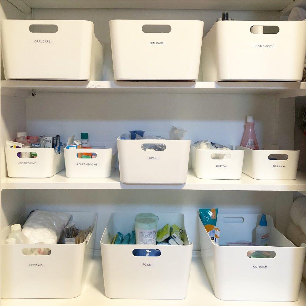 Henry & Higby Organized Bathroom Closet.JPG