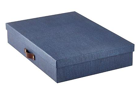 Bigso Marten Document Box Navy