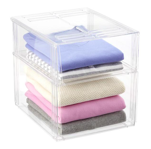 Premium Stackable Shirt & Sweater Bins