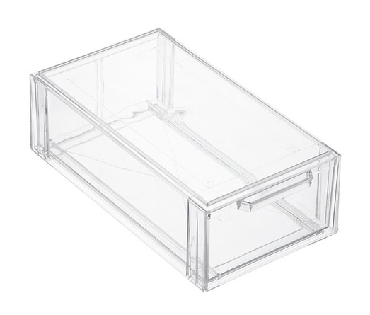 Clear Stackable Shoe Drawer