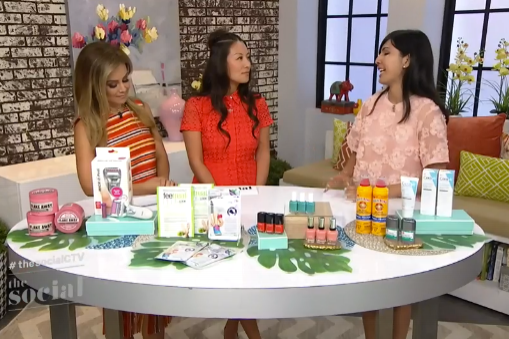 The Social:    Treat your feet with some must-have products .  Air date:  August 4, 2016